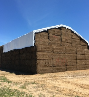 "Farm Tender ""Prime"" Ag Centre selling new Inland Performer Hay Tarps"