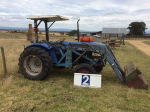 Under Auction - Leyland 245 Tractor - 2% + GST Buyers Premium On All Lots