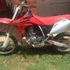 Honda CRF150R Motorbike