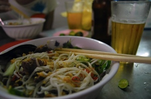 Vietnam - All beer and noodles for Aussie Farmers
