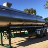 Tieman Stainless Steel Water Tanker  22000 lt