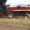 Fiatagri Rice Header with 20ft Front