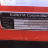 Under Auction - Kubota KX0803 2015 Model  - 2% Buyers Premium on all lots