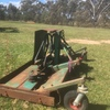 Kaye Finishing Mower 6' Wide 4 Disc with Twin Roller