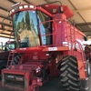 CASE IH 2388 AFS AXIAL-FLOW HEADER / HARVESTER FOR SALE WITH 2015 CANOLA FRONT AND 36 HONEY BEE DRAPER FRONT