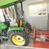 John Deere 4200 Compact tractor, 2001 mdl