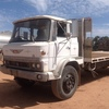 1980 hino truck with 22ft steel tray pto hydraulics 52000kms
