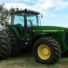 8400 john deere FWA tractor