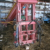 Forklift for tractor front mounted