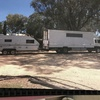 Mitsubishi FM 515 Horse /Stud Cattle Truck