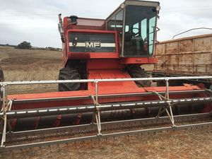 Massey Ferguson 550 Header 18 Foot Front