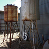 2 x overhead fuel tanks