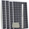 Hybrid AC/DC Solar Pump 4200l.hr or 120m max head run off mains/ generator or solar