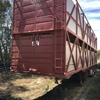 Byrne 2 Deck Cattle Trailer