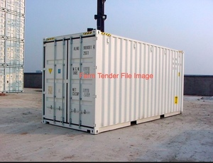 40ft High Cube Container's Will Deliver.