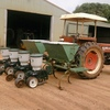 4 Row KMC Corn/Bean Planter with fertiliser boxes For Sale