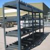 Heavy Duty Steel Rack Approx 4540mm x 1100mm x 2420mm