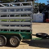 Tandem Trailer 8x5 With Stock Crate