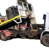 1990 Scania P93M250 6x4 Tilt Tray Truck