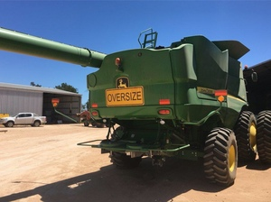 2014 John Deere S670 with 40ft JD Front ##PRICE REDUCED BE QUICK##