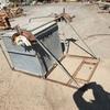 Galvanised Tank in Frame - 880L x 880W x 880H
