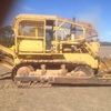Komatsu D65A-6 bulldozer scrub canopy and rippers