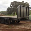 Large Hay Trailer - As New