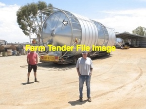 I need an 8/mt Nelson Silo Freighted 100km Near Melbourne