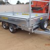 Electric Hyd Tipping Trailer 3.5 ton