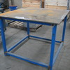 Steel Work Bench Approx 1200mm x 1200mm x 900mm