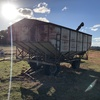 Dual Axle Grain Bin with Auger