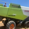 Under Auction - CLAAS 750 TT header / harvester  - 2% Buyers Premium on all lots