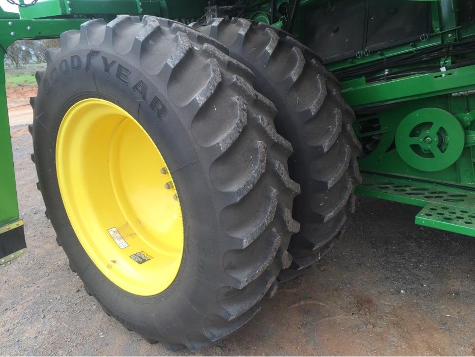 John Deere Wheels And Rims : For sale john deere wheels and tyres machinery