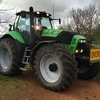 50kmh DEUTZ - FAHR AGROTRON X7.20 DCR TRACTOR FOR SALE - AS New!