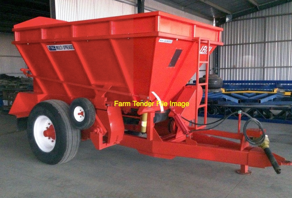 Farm Machinery Belts : Trailing belt spreader wanted for hire or purchase lime