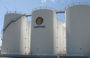 GrainCorp to improve customer experience