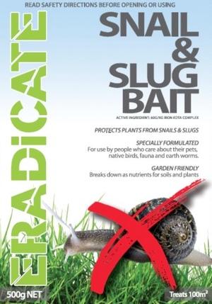 Eradicate Snail & Slug Bait 500kg