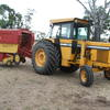 Haymaking outfit Chamberlain 4080B with NH848 Bale command