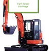Wanted Small Excavator 3/4 tonne