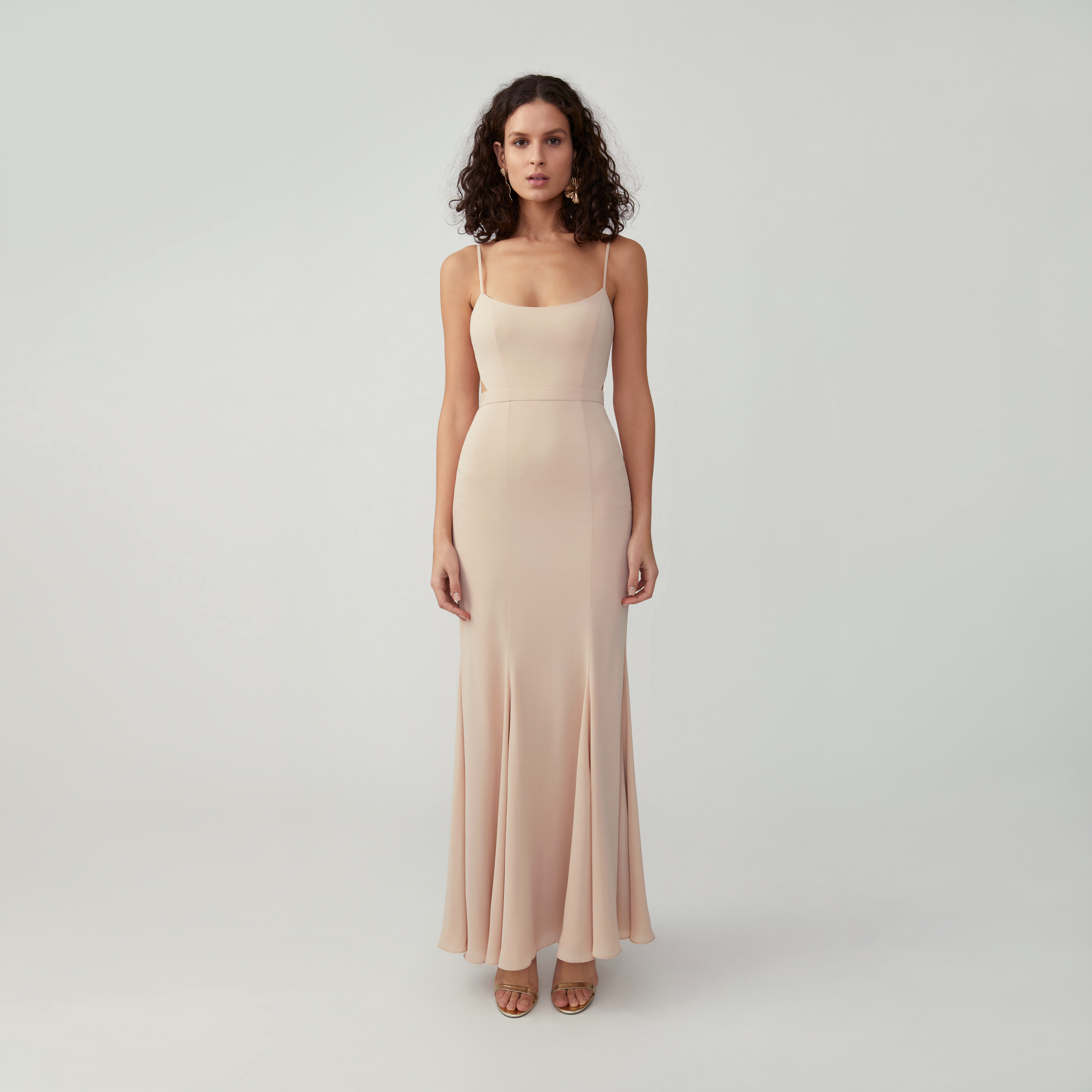 Scoop Mermaid Gown