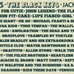 Firefly Music Festival 2012 Lineup