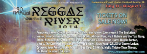 Reggae on the River 2014 lineup