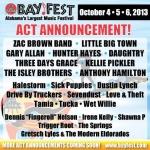 BayFest Music Festival 2013 Lineup