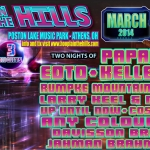 2014 Hoopla in the Hills lineup