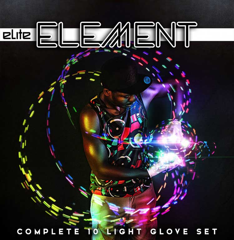 EmazingLights Elite Element Glove Set