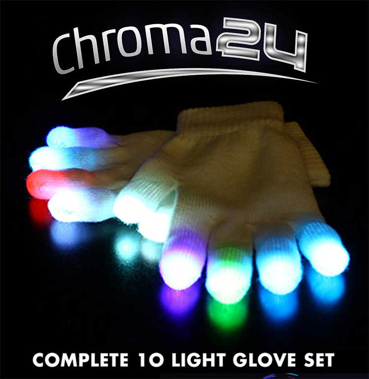 EmazingLights eLite Chroma24 Glove Set