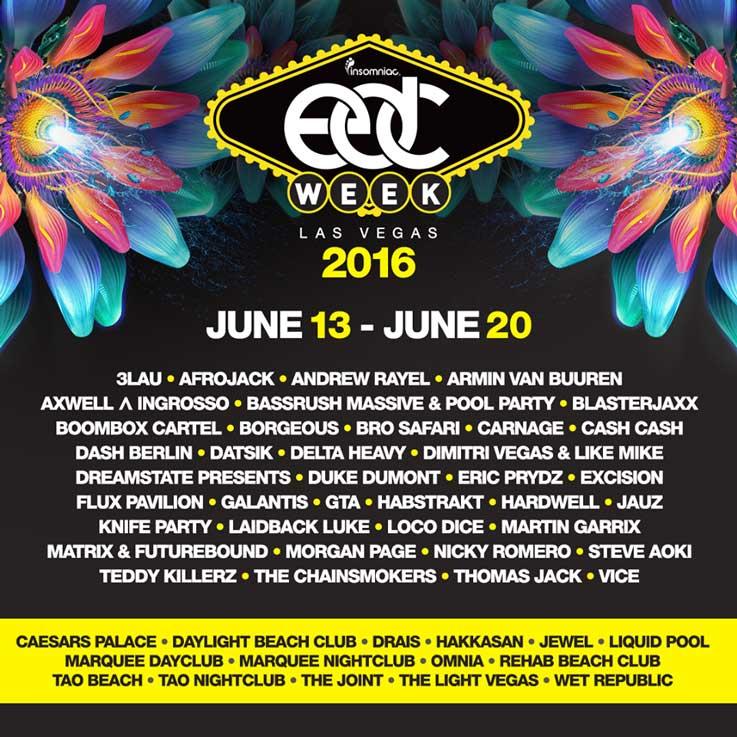 EDC Las Vegas June Las Vegas NV - Edc las vegas map 2016