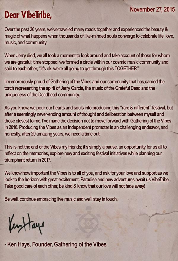 GOTV 2016 Cancellation Message
