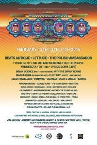 Gem and Jam Festival 2016 Lineup