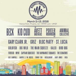 McDowell Mountain Music Festival 2016 Full Lineup